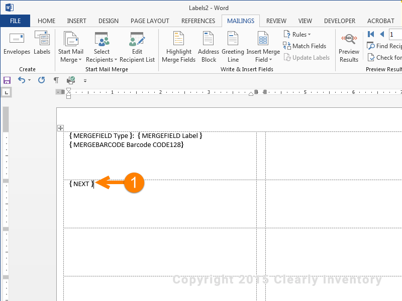 Add codes to list